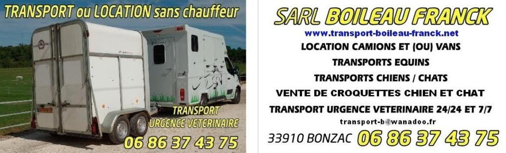 TRANSPORT SARL BOILEAU FRANCK