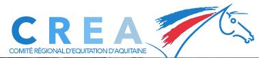 CREA Comité Régional d'équitation d'aquitaine