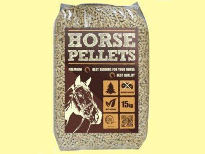 Horse-pellets litiere pour chevaux en granules de bois ou de paille