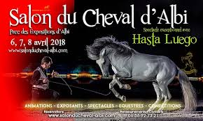 salon du cheval albi 2018cheval partenaire. Black Bedroom Furniture Sets. Home Design Ideas