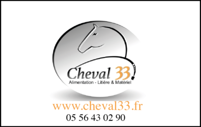 Le logo de Cheval 33