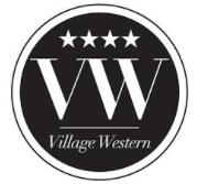 village western, équitation western