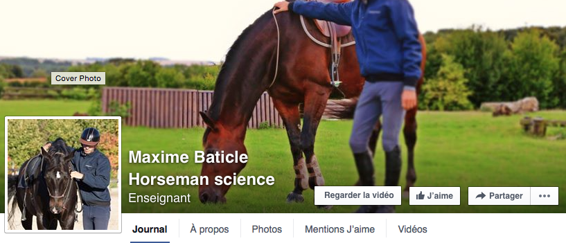 Maxime Baticle Horseman science