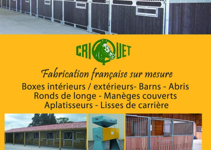 Le solarium de la société Criquet Moulis