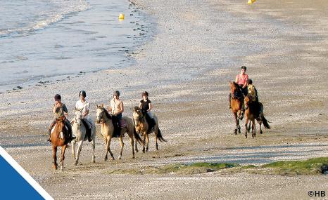 vacances à cheval