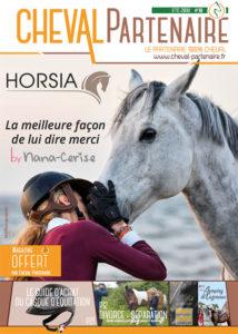 couverture magazine cheval partenaire été 2018