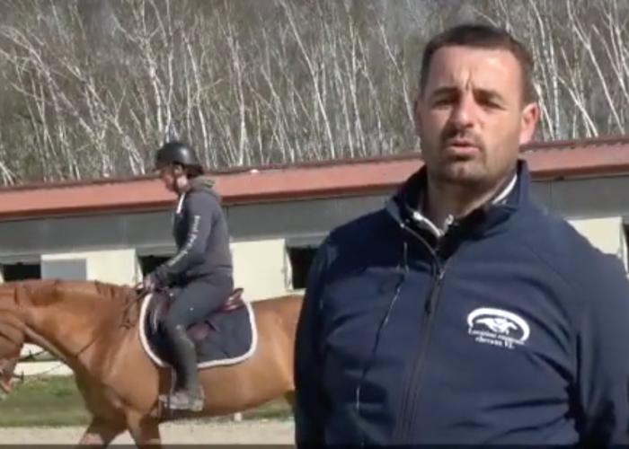 Loic Durain et la détente du cheval