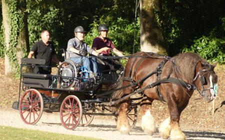 L'équitation au service des handicapés