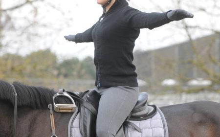 Mise en selle à cheval