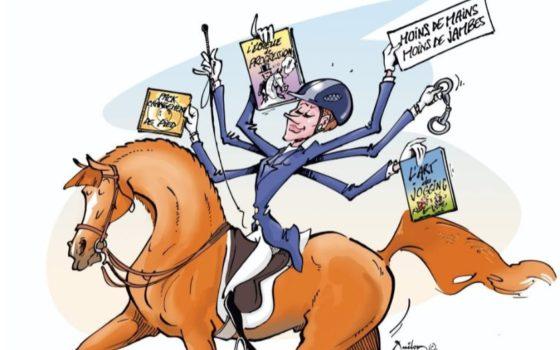 Nicole Favereau et e-riding