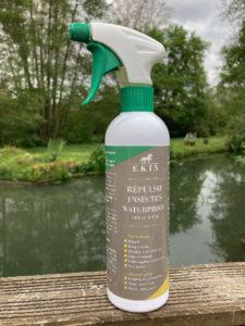 Le répulsif insectes waterproof de chez Ek1n