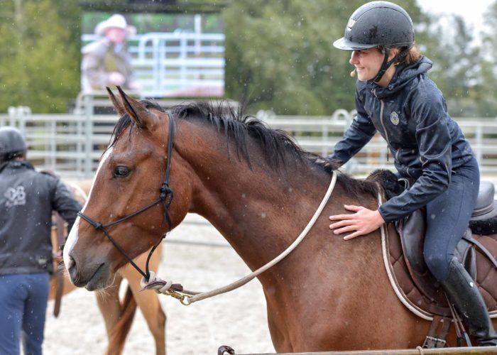 Calliane DECERLE la spécialiste du débourrage des chevaux
