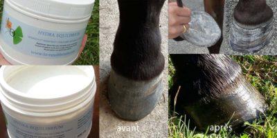 Le soin Hydra Equilibrium - une crème hydratante pour les pieds très secs.